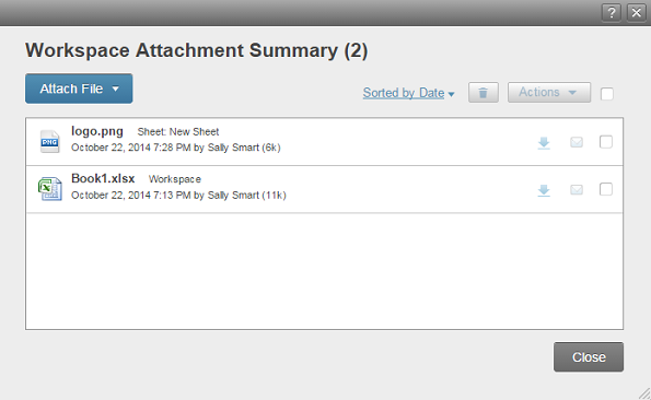 download all attachments as a zip file