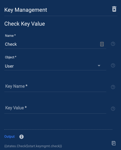 Check Key Value