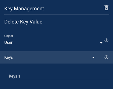 Delete Key Value