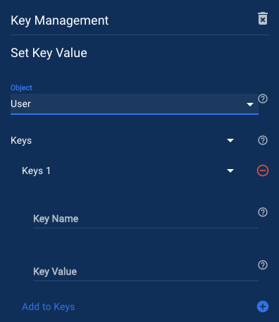 Set Key Value