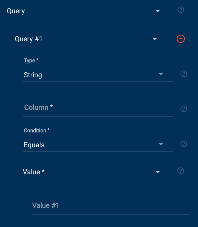 Salesforce Query module fields continued