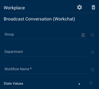Workplace Broadcast Conversation