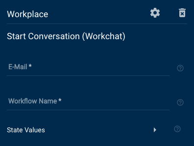 Workplace Start Conversation