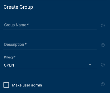 Workplace Create Group