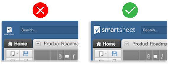 brand smartsheet with your colors and logo smartsheet