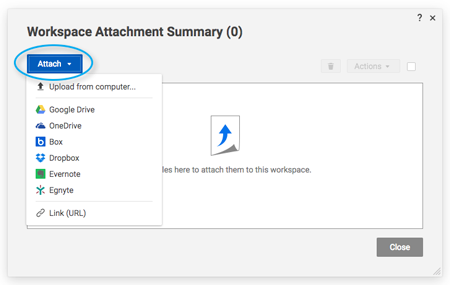 Upload an Attachment | Smartsheet Learning Center